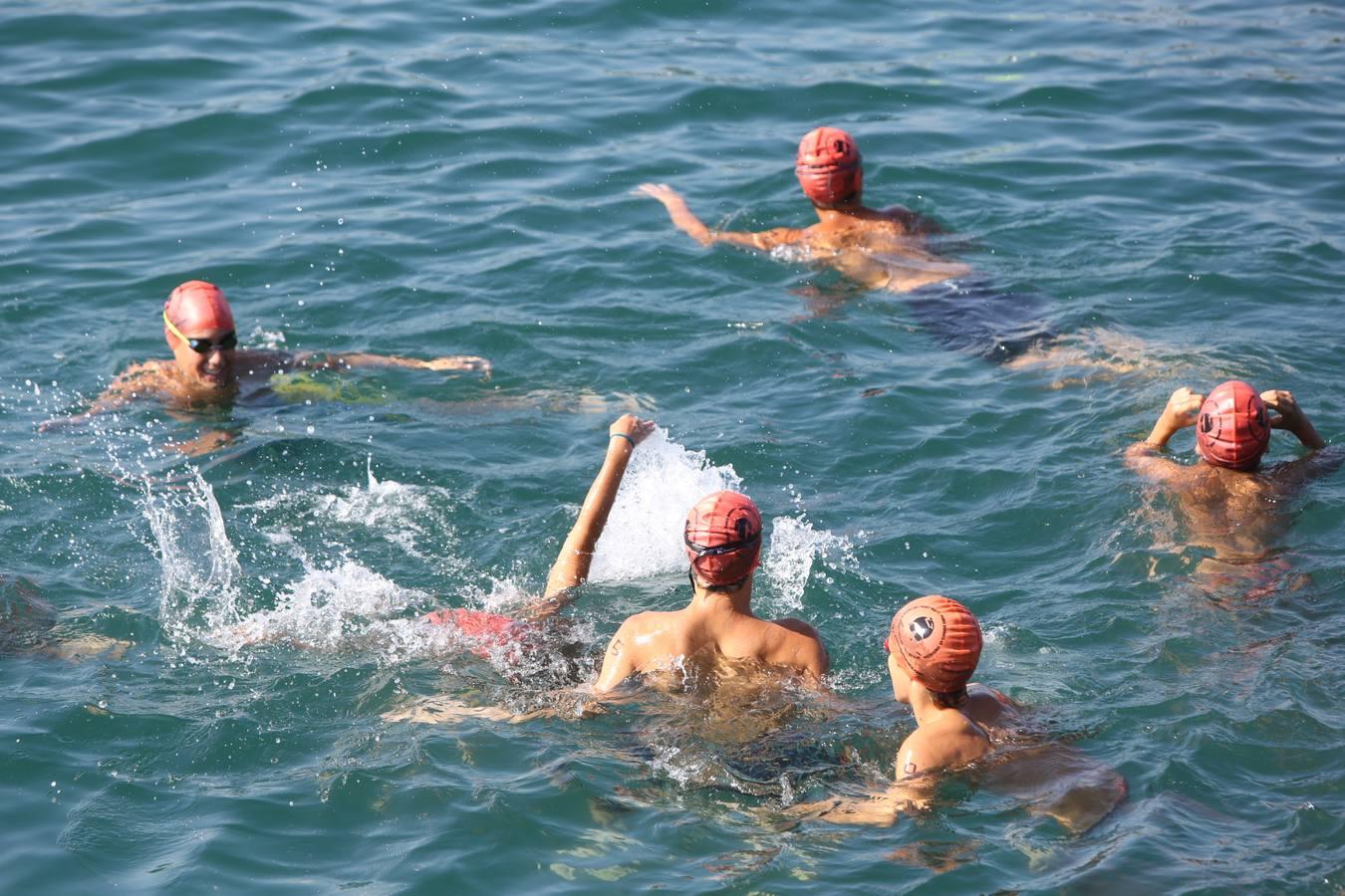 A nado desde la Zurriola (I)