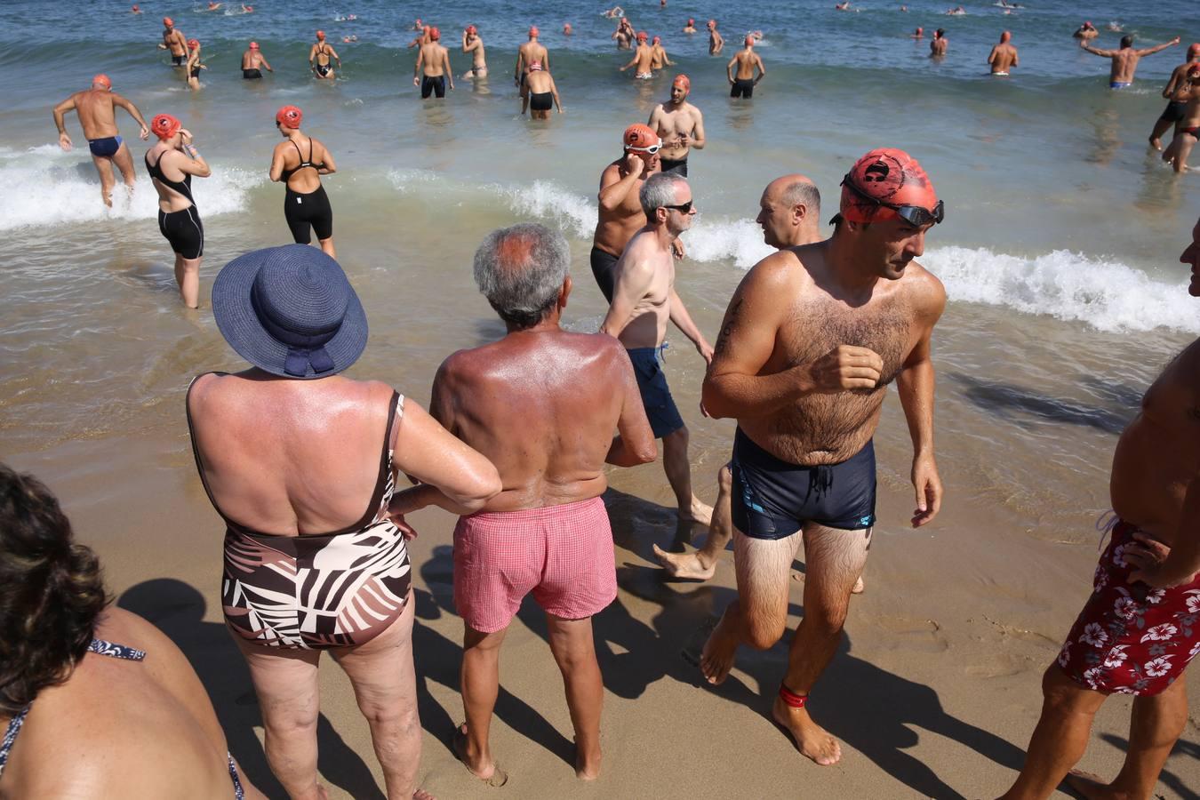 A nado desde la Zurriola (II)