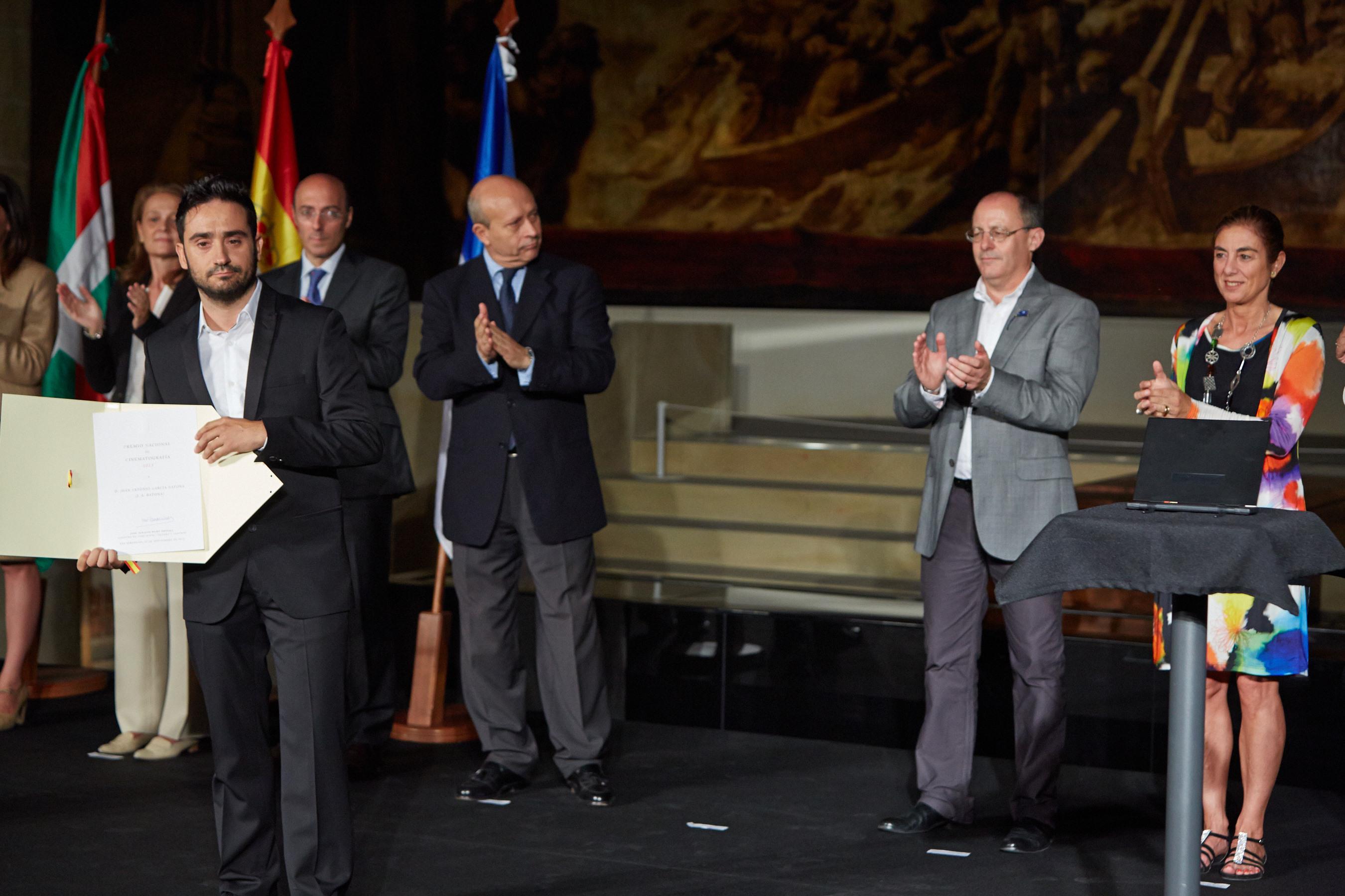 Juan Antonio Bayona, Premio Nacional de la Cinematografía