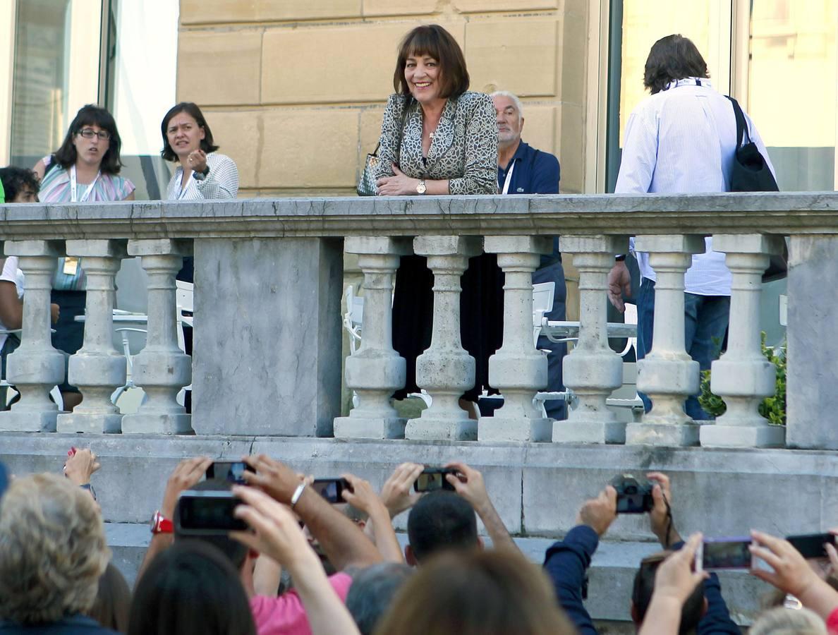Protagonistas frente al María Cristina