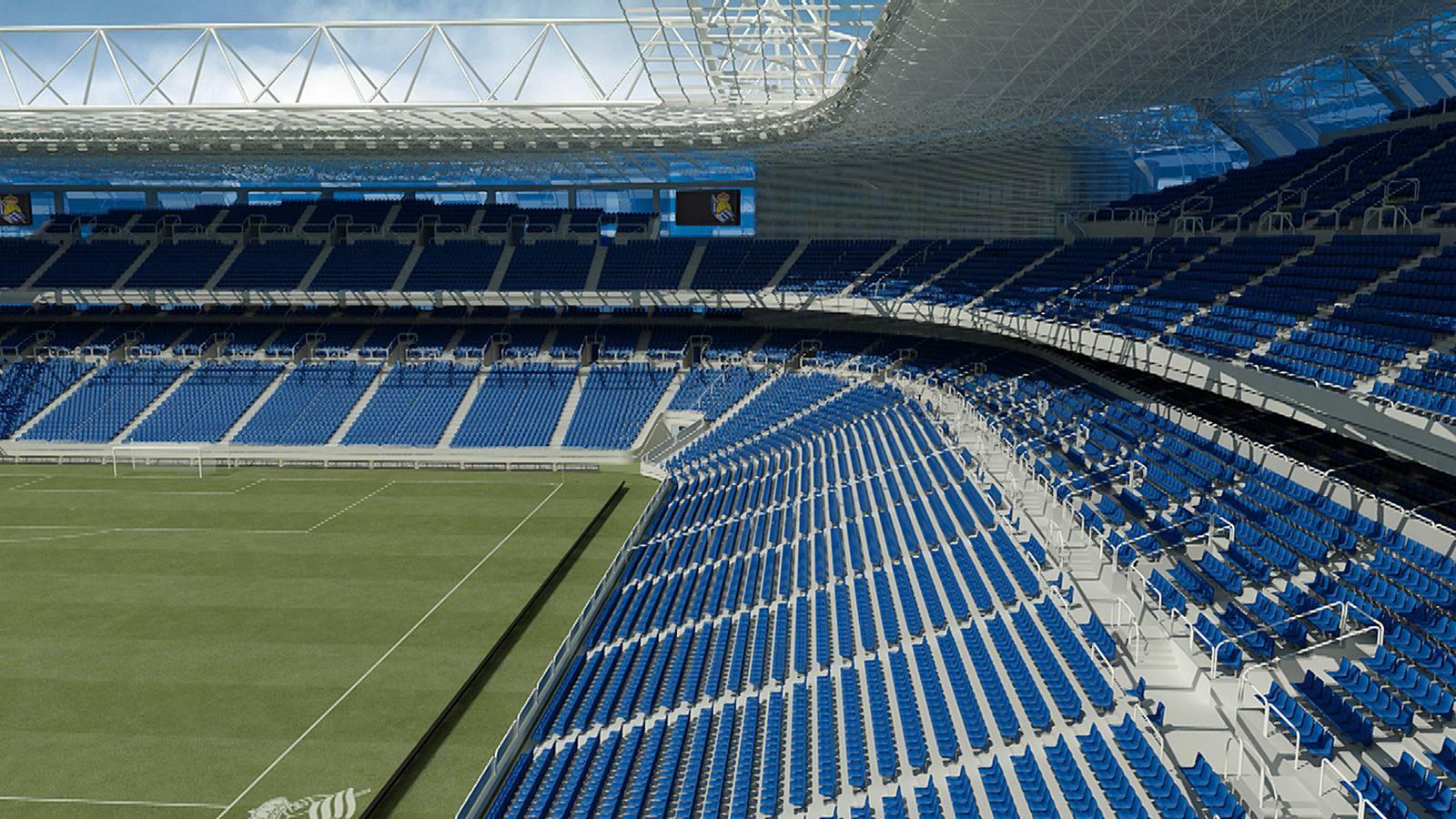 Así es el proyecto del nuevo estadio de Anoeta